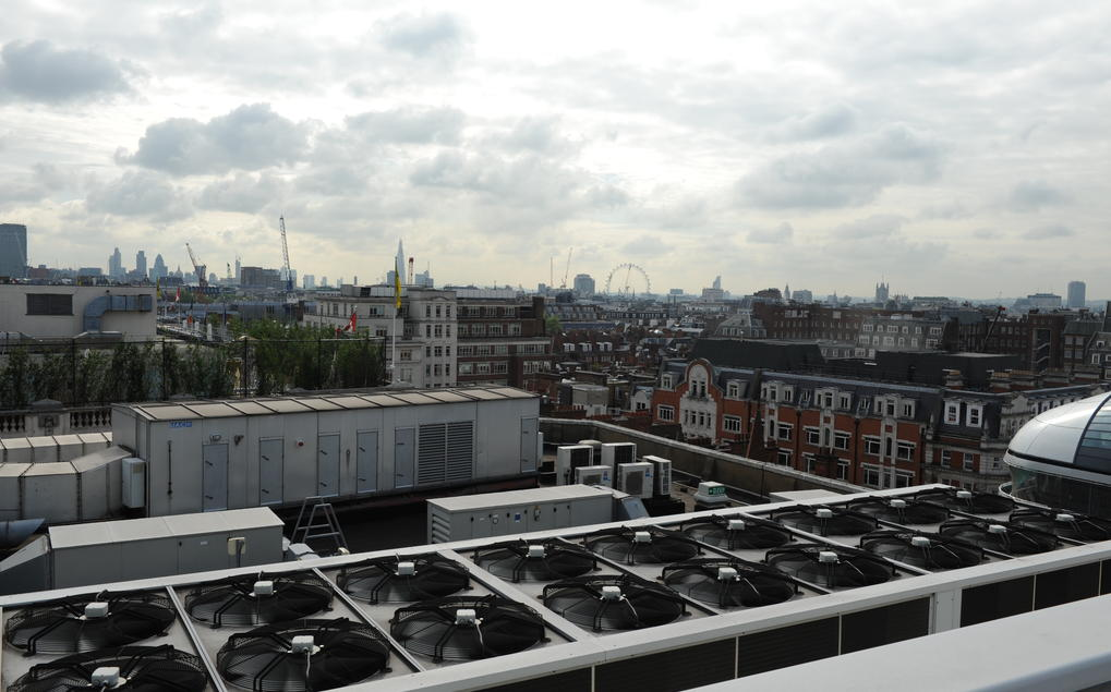 WB Projects Roof Plant London