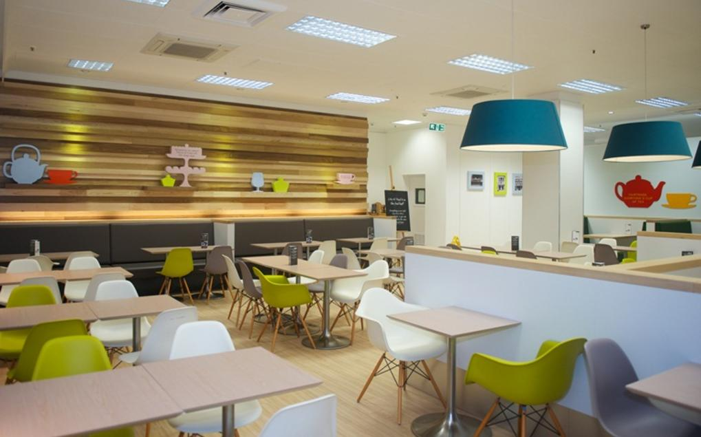 WB Projects M&S Cafe