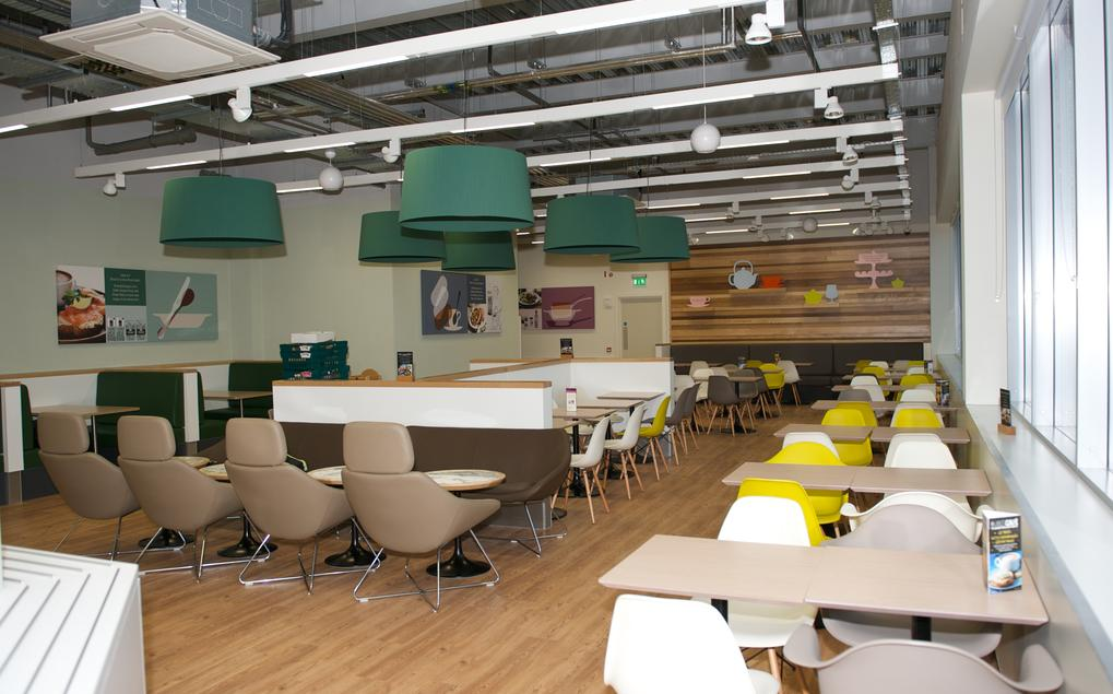 WB Projects M&S Bexhill Cafe